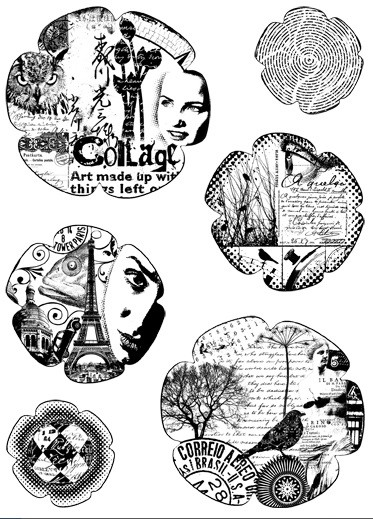 Paper Artsy - Cling Mounted Rubber Stamp Set - Hot Picks Xtra 02