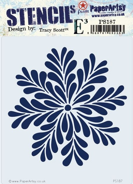 Paper Artsy - Stencil - {ETS} 187 by Tracy Scott
