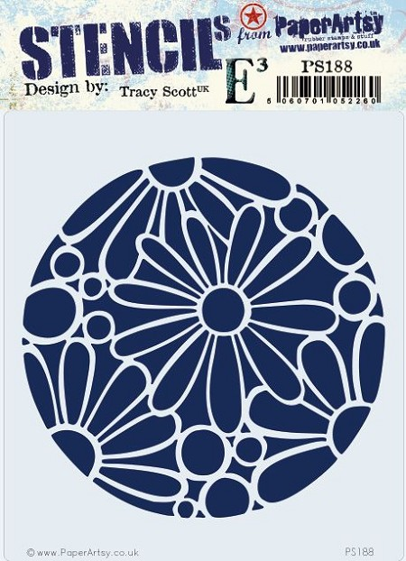 Paper Artsy - Stencil - {ETS} 188 by Tracy Scott