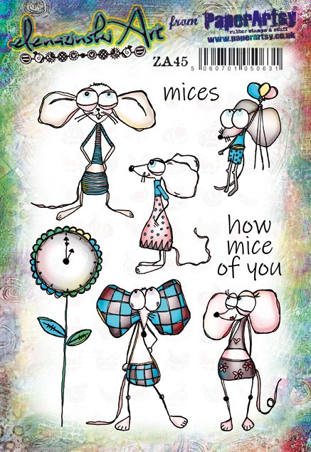 Paper Artsy - Elenazinski Art Cling Mounted Rubber Stamps - Elenazinski Art 45