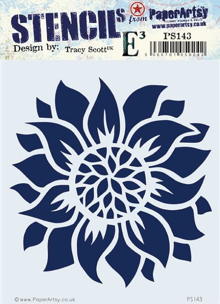 Paper Artsy - Stencil - {ETS} 143 by Tracy Scott