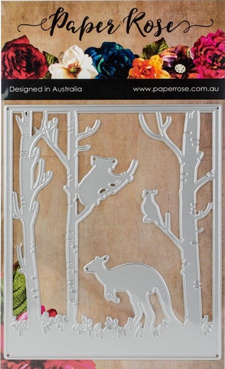 Paper Rose - Cutting Die - Kangaroo In Forest