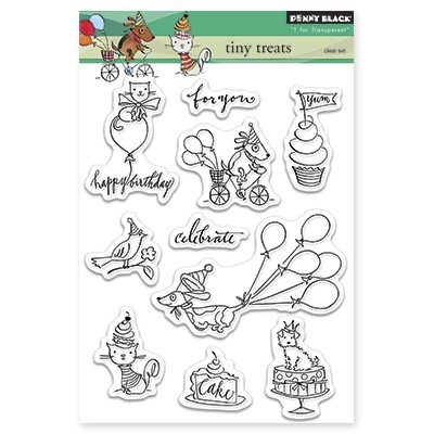 Penny Black - Clear Stamp - Tiny Treats