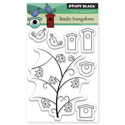 Penny Black - Clear Stamp - Birdie Bungalows
