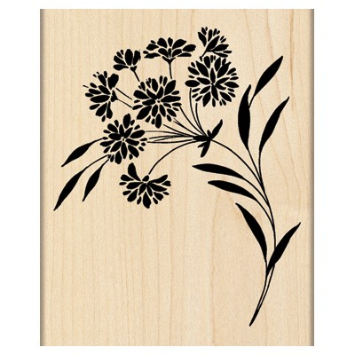 Penny Black - Wood mounted rubber stamp - Ebullient