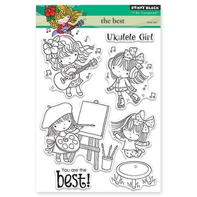 Penny Black - Clear Stamp - The Best