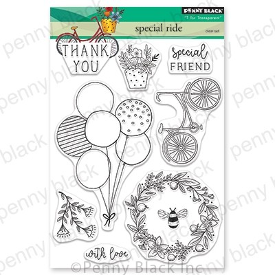 Penny Black - Clear Stamp - Special Ride