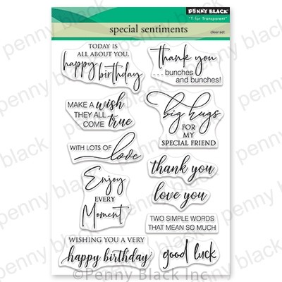 Penny Black - Clear Stamp - Special Sentiments