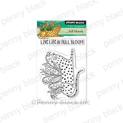 Penny Black - Clear Stamp - . . . Full Bloom