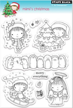 Penny Black Clear Stamp - Mimi's Christmas