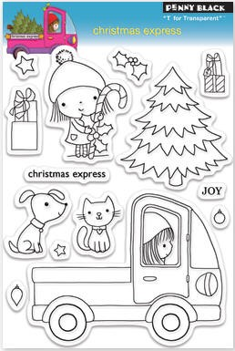 Penny Black Clear Stamp - Christmas Express