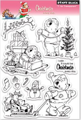 Penny Black Clear Stamp - Christmas Every Day