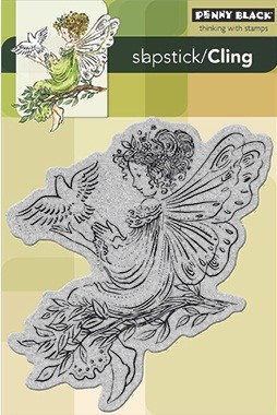 Penny Black - Slapstick Cling Stamp - Angel of Peace