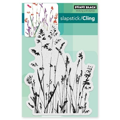 Penny Black - Slapstick Cling Stamp - Nature's Paintbrushes