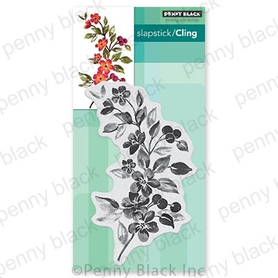 Penny Black - Slapstick Cling Stamp - Nature's Glory