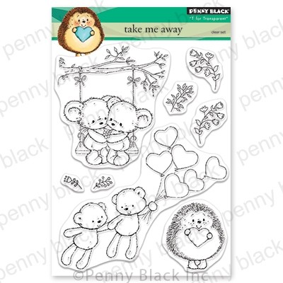 Penny Black - Clear Stamp - Take Me Away