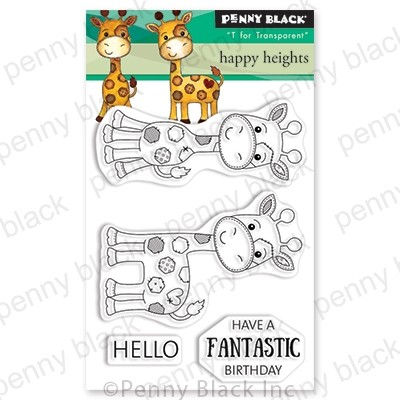 Penny Black - Clear Stamp - Happy Heights