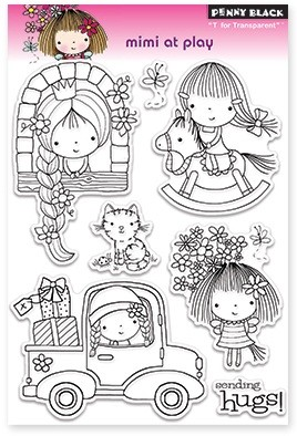 Penny Black - Clear Stamp - Mimi at play