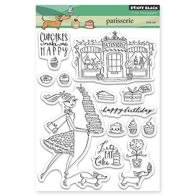 Penny Black - Clear Stamp - Patisserie