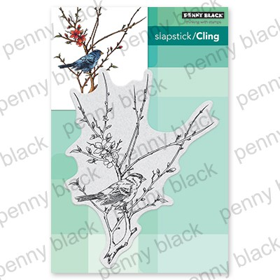 Penny Black - Slapstick Cling Stamp - Spring Is Here