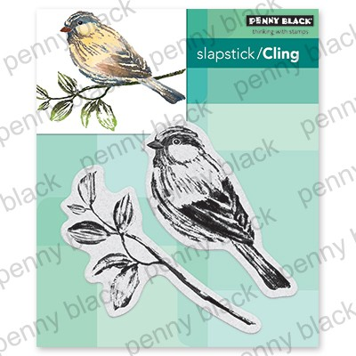 Penny Black - Slapstick Cling Stamp - Just Looking