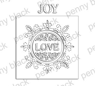 Penny Black - Die - Cut & Stitch Circle