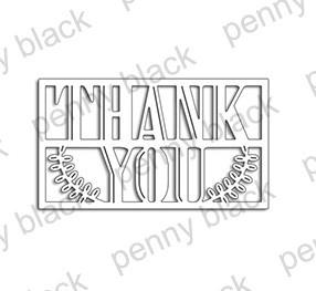 Penny Black Framed Thanks에 대한 이미지 검색결과