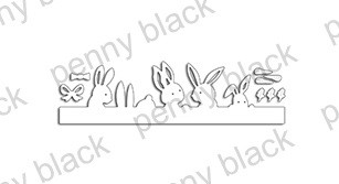 Penny Black - Die - Mischievous Bunnies