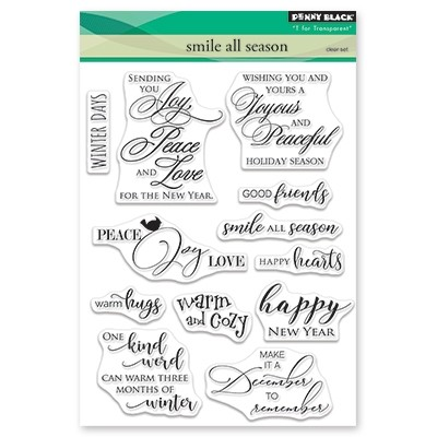 Penny Black - Clear Stamp - Smile All Season
