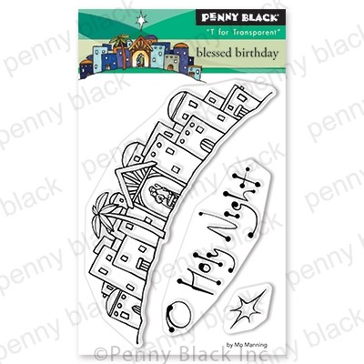 Penny Black - Clear Stamp - Blessed Birthday