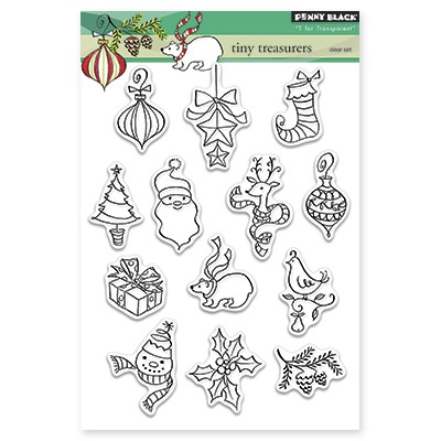Penny Black - Clear Stamp - Tiny Treasures