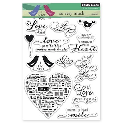 Penny Black - Clear Stamp - So Very Much