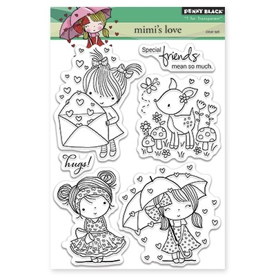 Penny Black - Clear Stamp - Mimi's Love