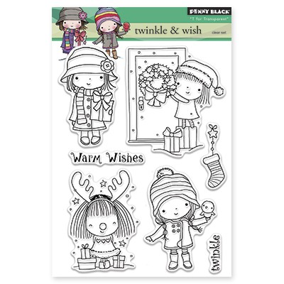 Penny Black - Clear Stamp - Twinkle & Wish