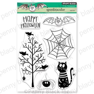 Penny Black - Clear Stamp - Spooktacular