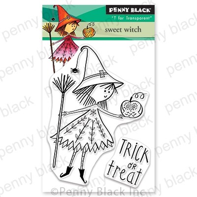 Penny Black - Clear Stamp - Sweet Witch