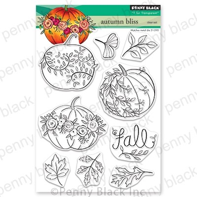 Penny Black - Clear Stamp - Autumn Bliss