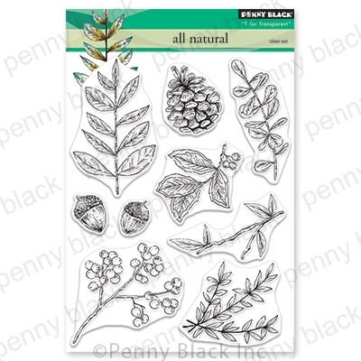 Penny Black - Clear Stamp - All Natural