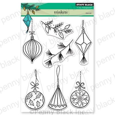 Penny Black - Clear Stamp - Trinkets