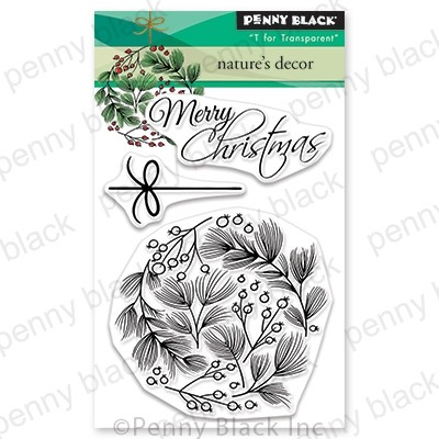 Penny Black - Clear Stamp - Nature's Decor