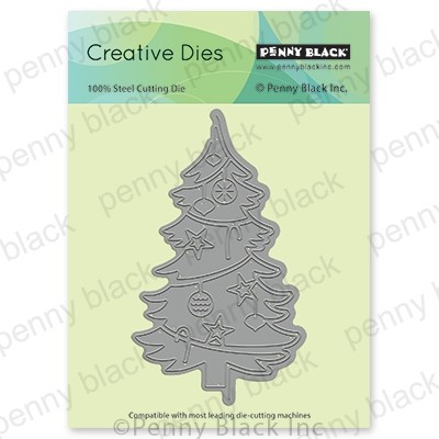 Penny Black - Die - Christmas Tree Edger