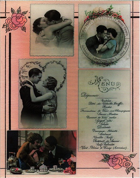 Penny Black - Sticker Sheet - Romance