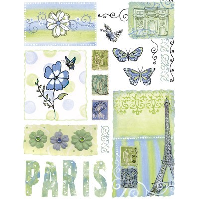 Penny Black - Sticker Sheet - Paris Je Taime