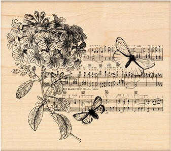 Penny Black Wood Stamp - Butterfly Suite