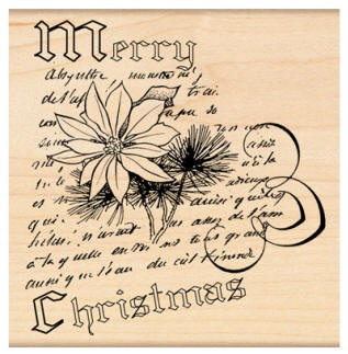 Penny Black Wood Stamp - Christmas Narrative :)