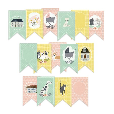 Piatek 13 - We Are Family Collection - Paper Garland