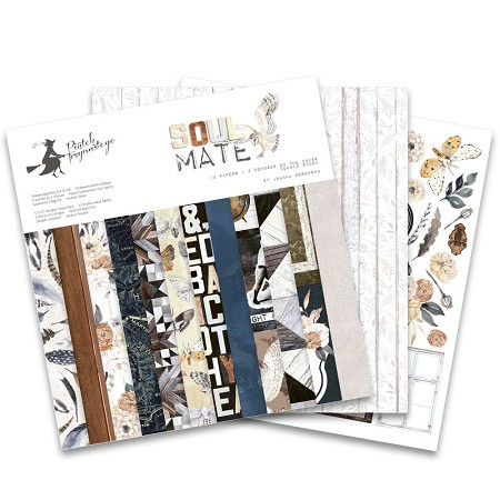 "Piatek 13 - Soulmate Collection - 12""x12"" Paper Pad"