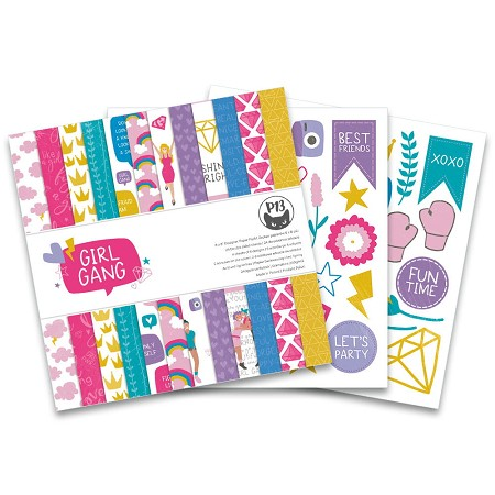 "Piatek 13 - Girl Gang Collection - 6""x6"" Paper Pad"