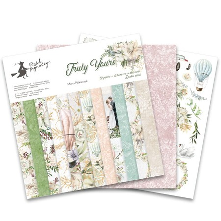"Piatek 13 - Truly Yours Collection - 12""x12"" Paper Pad"