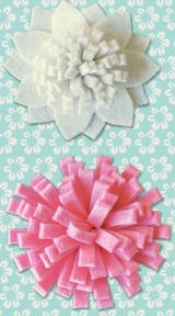 Pink Paislee-Daily Junque-Felt Flowers